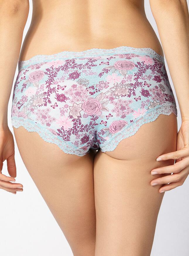 Tatiana wallpaper floral shorts