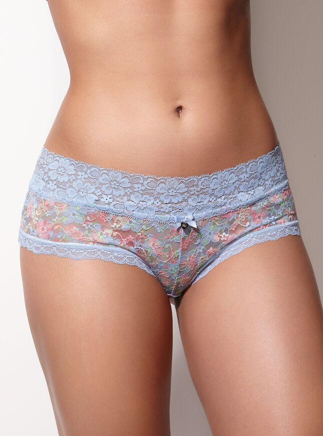 Lia lacey floral lace shorts
