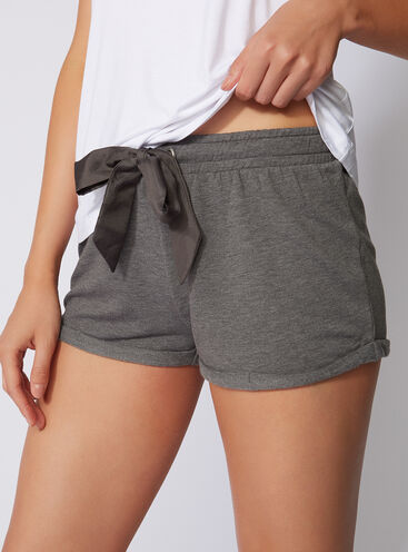 Leisurewear running-style shorts