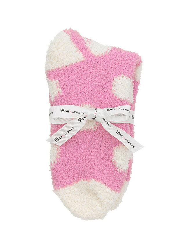 Spot ankle socks