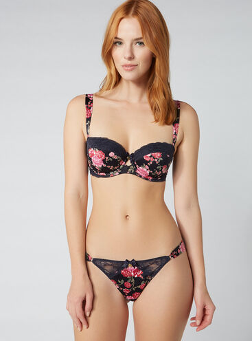 Japanese rose thong