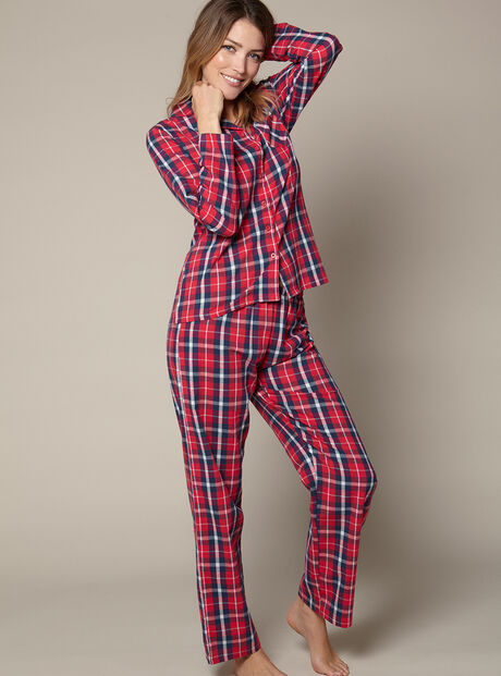 Check pyjamas in a bag