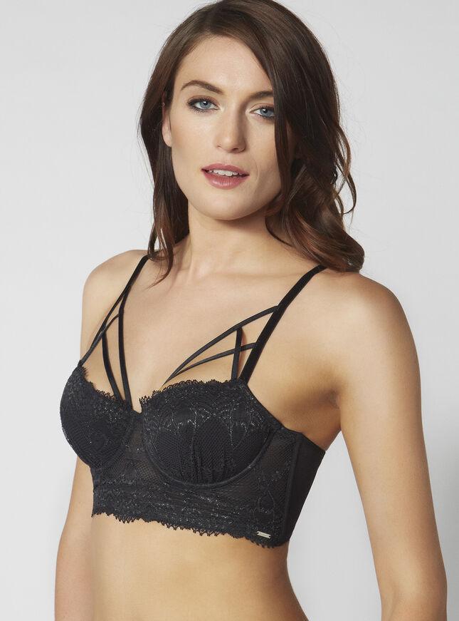 Jessica strappy longline bra