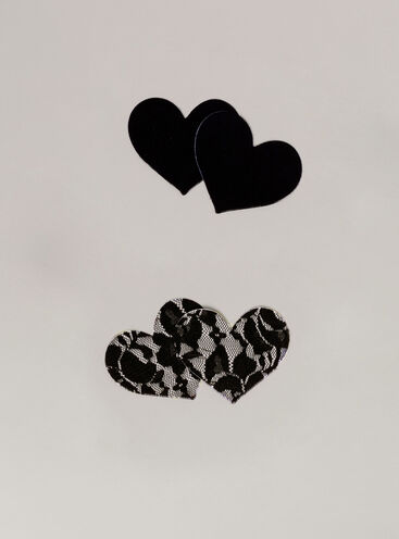Heart nipple covers