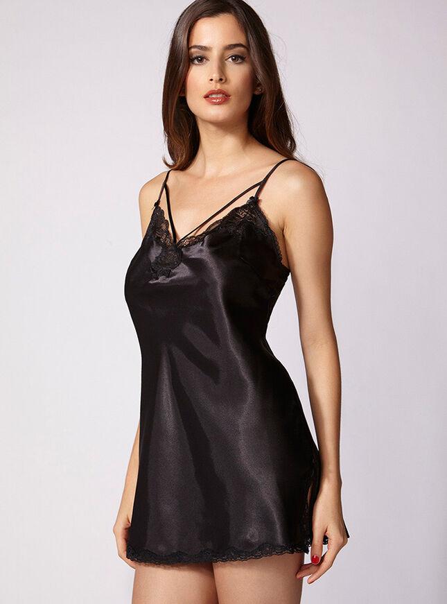 Demi strappy chemise