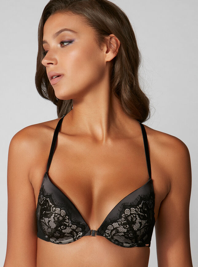 Tanya lace plunge bra