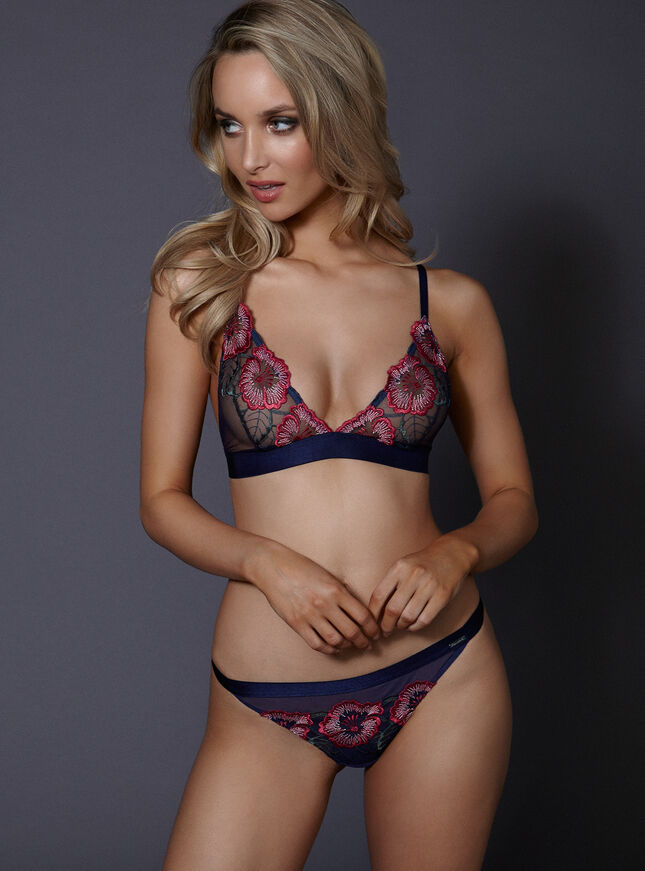 Lori non-padded triangle bra