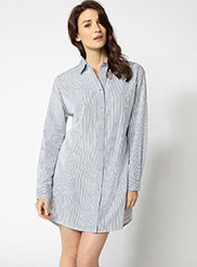 Boyfriend stripe nightshirt