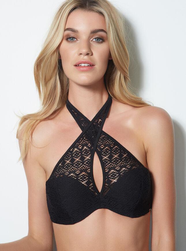 Bonaire crochet bikini top