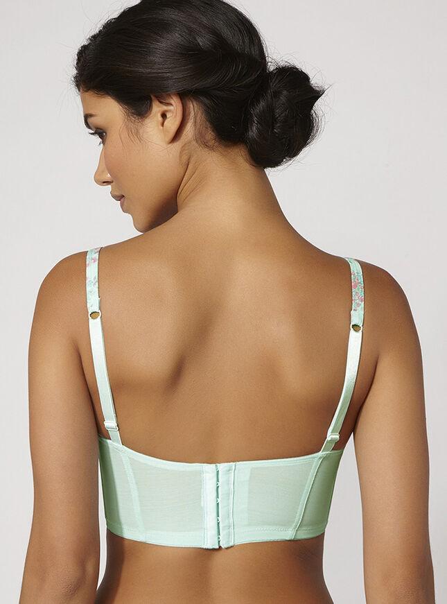 Flora longline bra