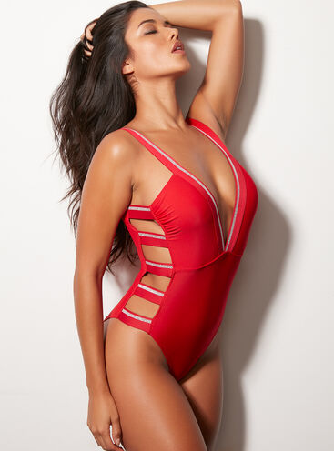 Paphos cut-out swimsuit