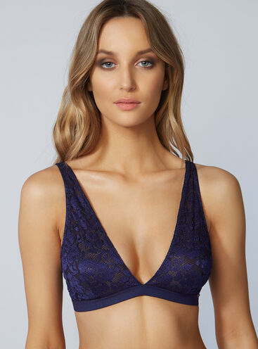 Savannah non-padded triangle bra