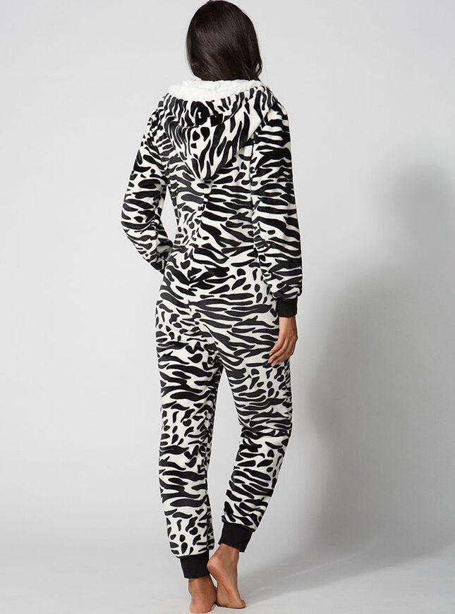 Zingy zebra onesie