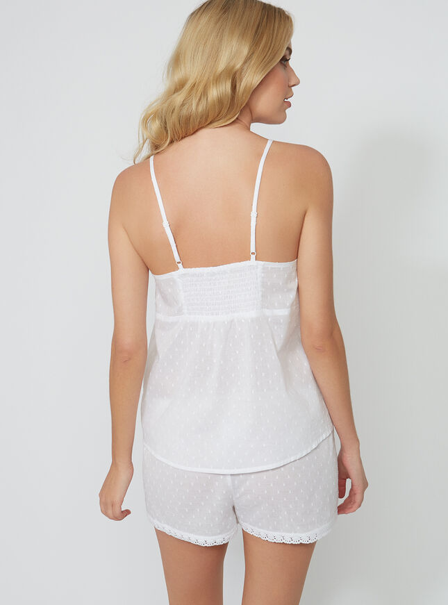 Prairie swiss dot cami set
