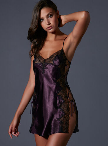 Ally tie side chemise