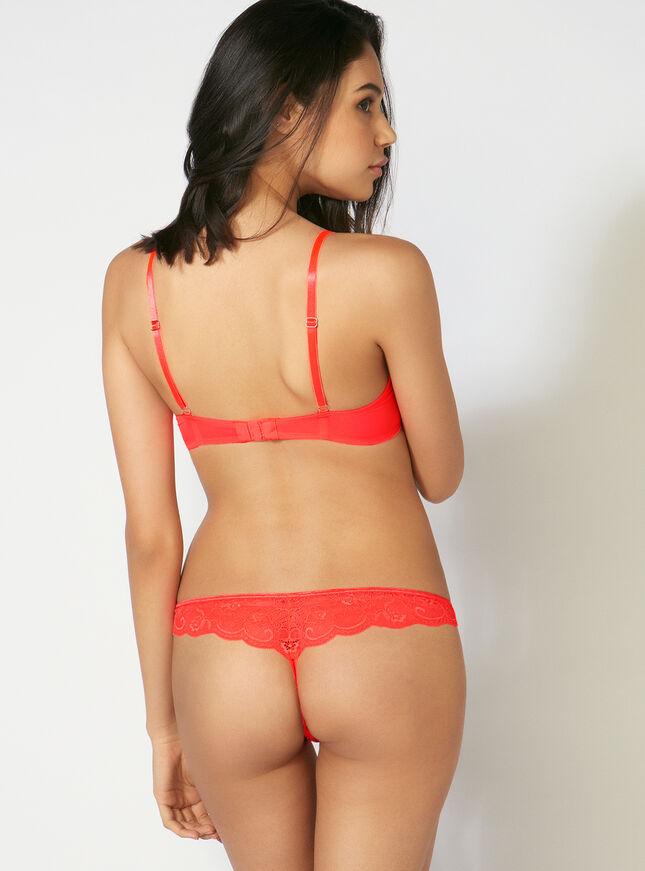 Aisha mesh thong