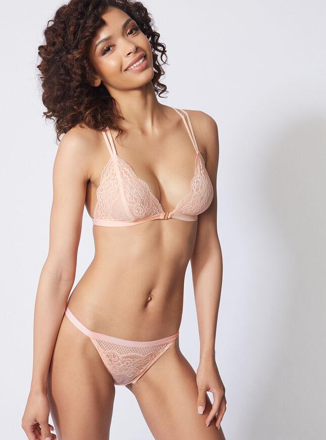 Erica non-padded triangle bra
