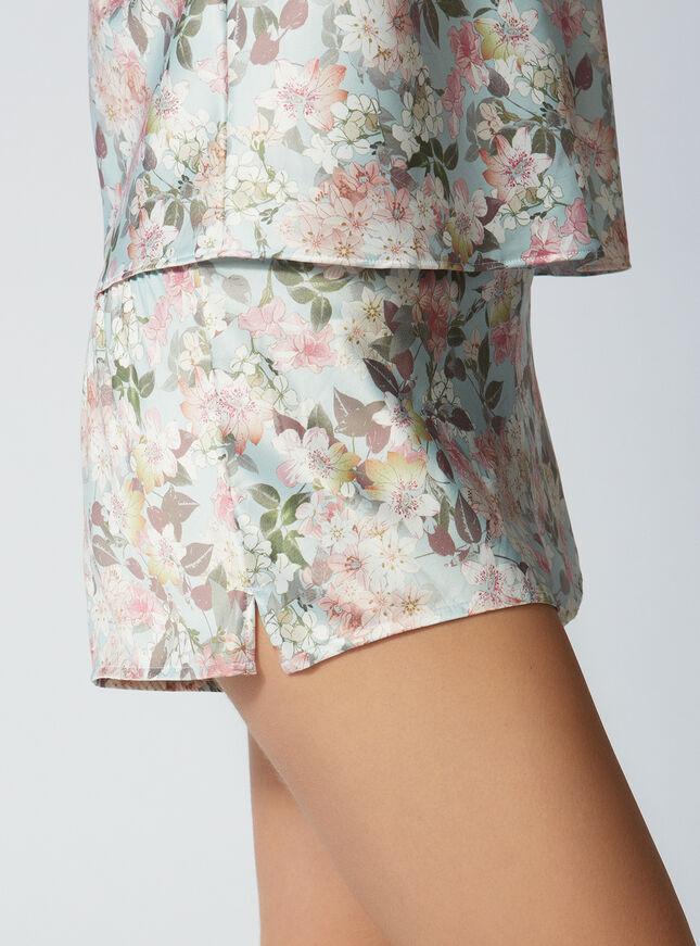 Jasmine satin cami and shorts set