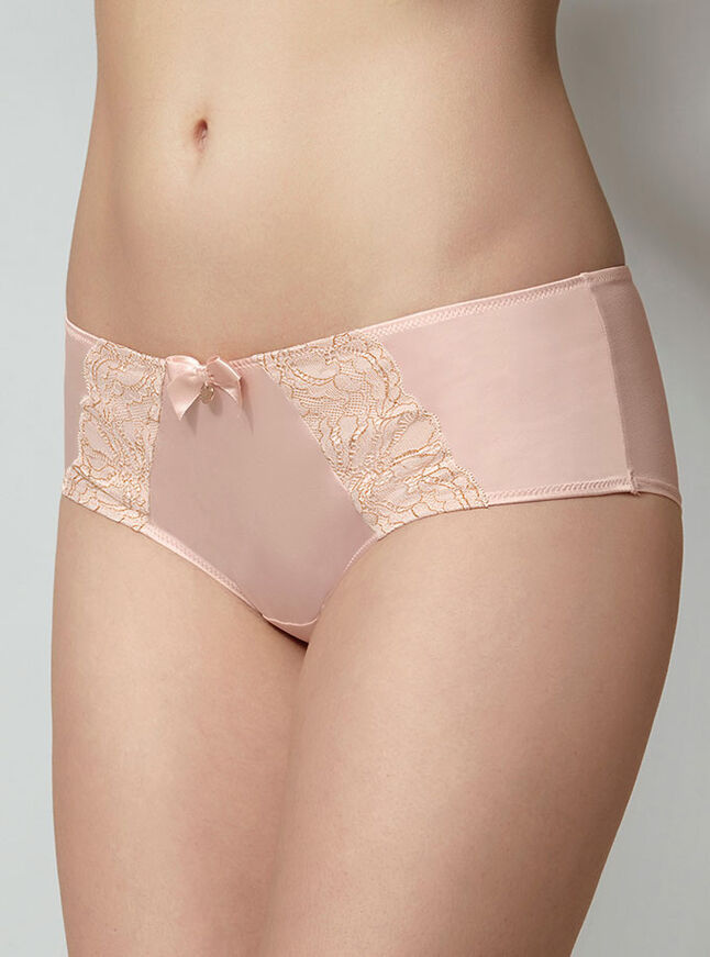Henrietta sparkle satin shorts