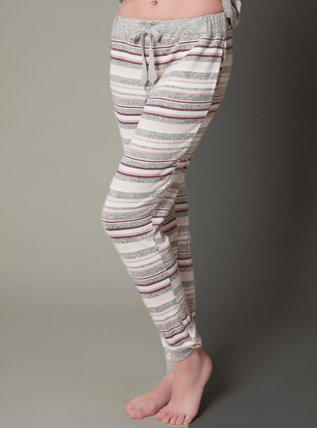 Nia stripe lounge pants