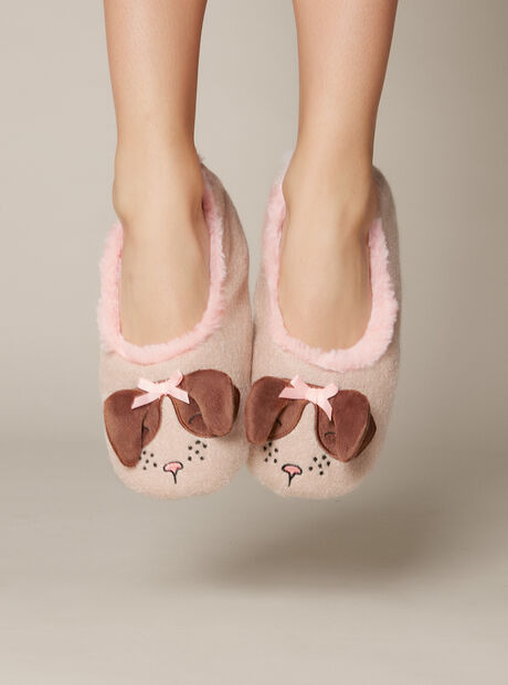 Sausage dog slippers