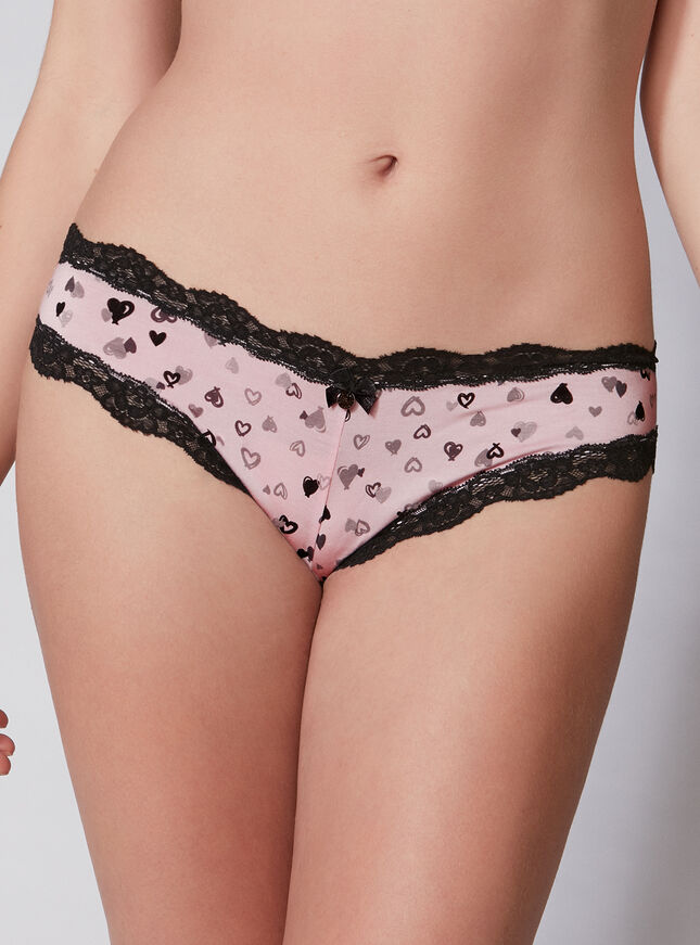 Tatiana heart Brazilian briefs