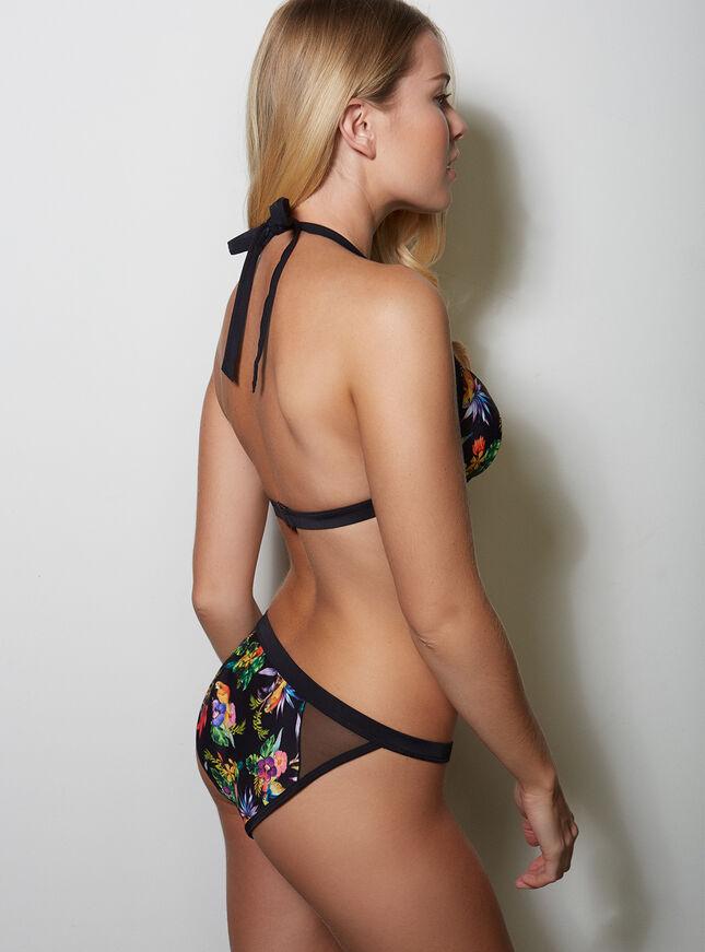 Tropical bikini briefs