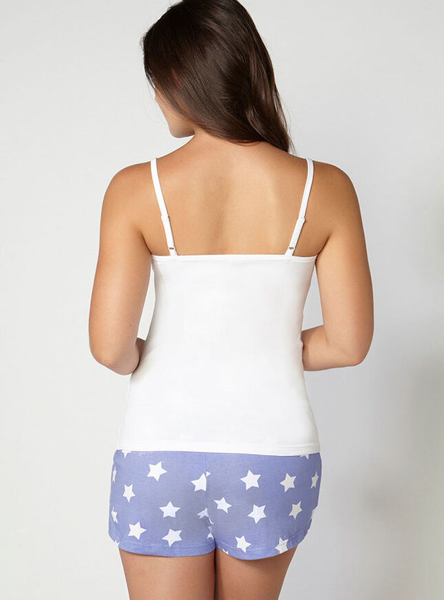 Vest and star shorts set