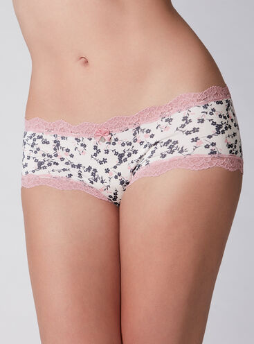 Tatiana nautical flower shorts