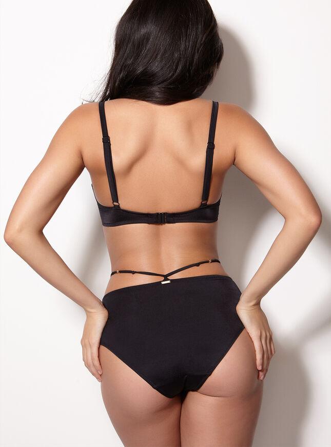 Mauritius beaded midi bikini briefs