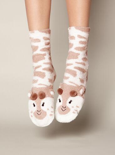 Giraffe twin socks