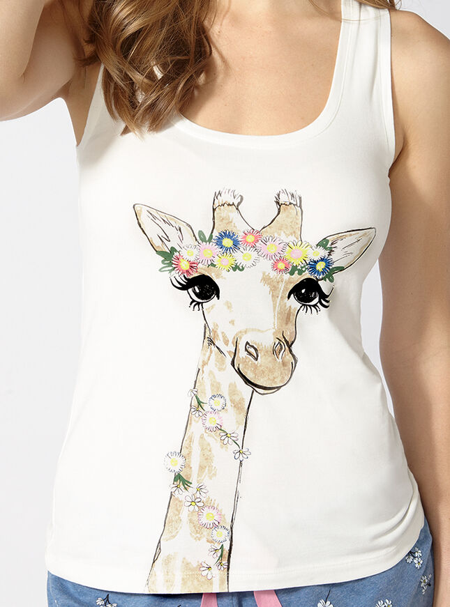 Meadow giraffe pyjama set