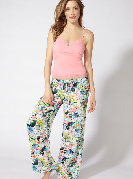 Sweet pea camisole and pants set