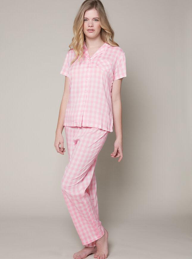 Prairie gingham pyjama set