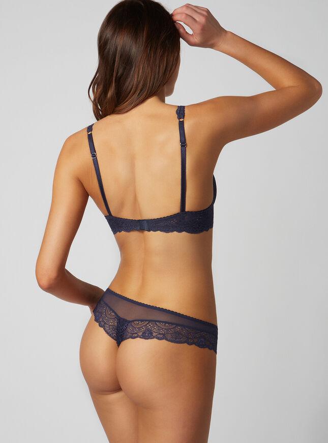 Tori lace thong