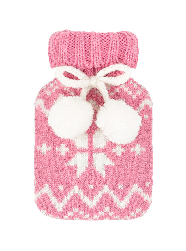 Fairisle hand warmer