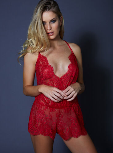Latisha lace teddy