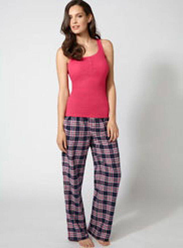 Billie check pyjama pants