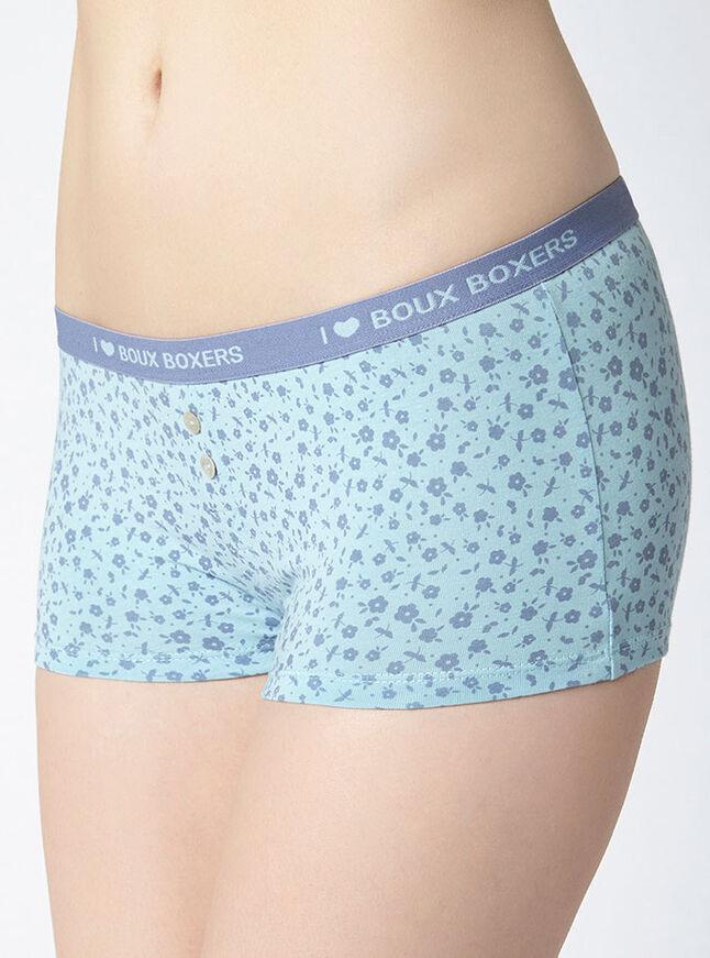 Ditsy floral boy shorts