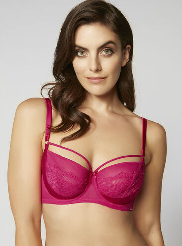 Lilian full support non-padded bra