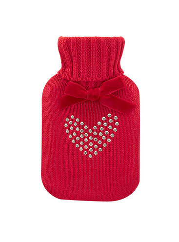 Mini heart hot water bottle  500ml