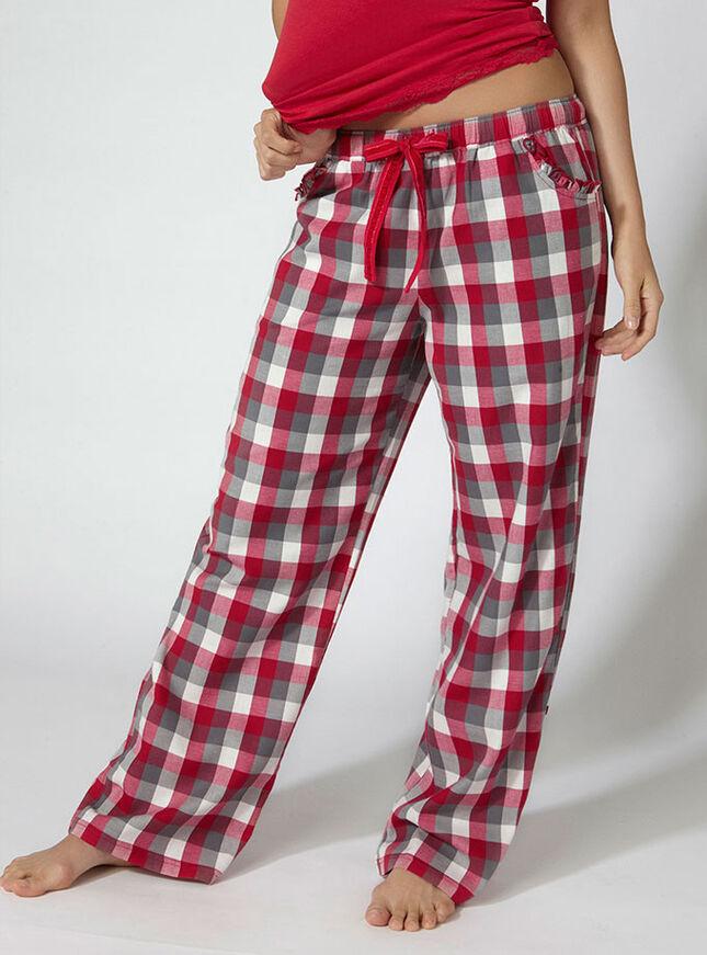 Fiona check pyjama pants