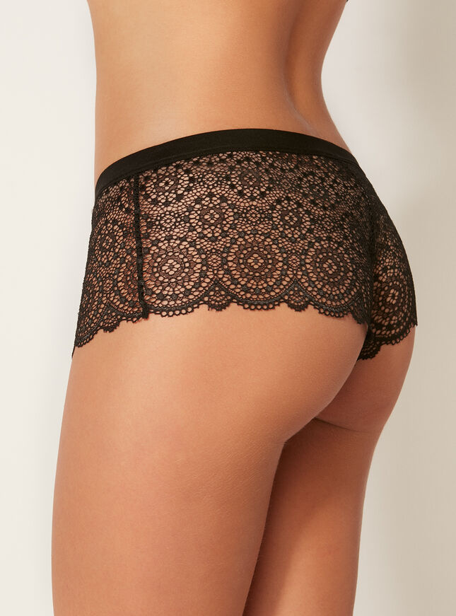 Moroccan lace shorts