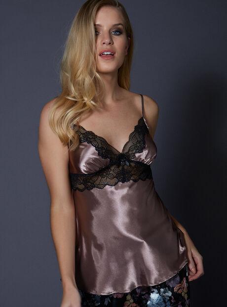 Dark rose camisole