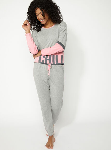"""Chill out"" jogger set"