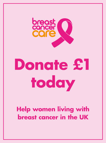 Breast Cancer Care donation