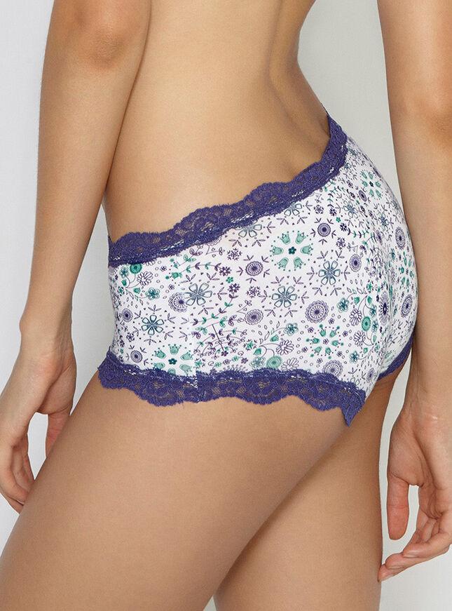 Tatiana multi print shorts