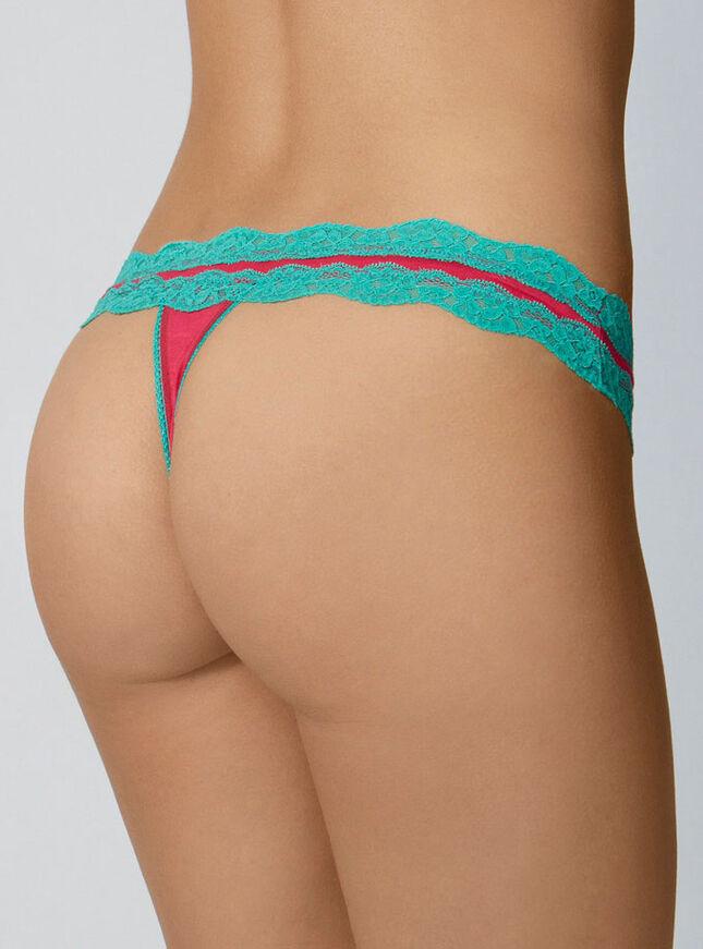 Tatiana lace thong