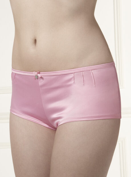 Loretta satin shorts