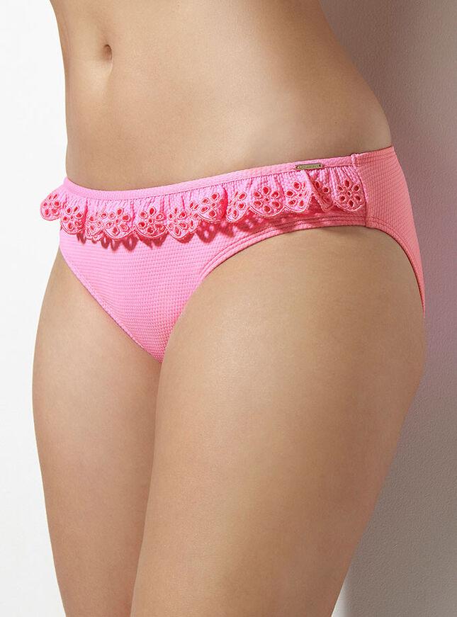 Amora frill bikini briefs